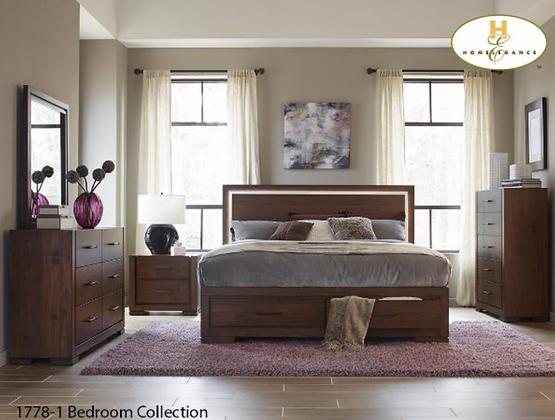 1778 Storage Bedroom Set