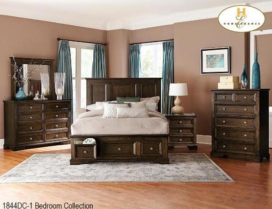 1844 Storage Bedroom Set