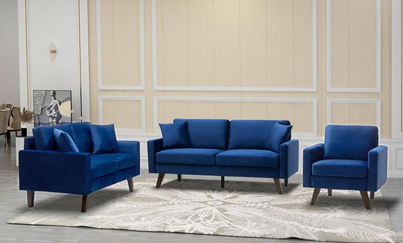 9044 3pc Sofa Set