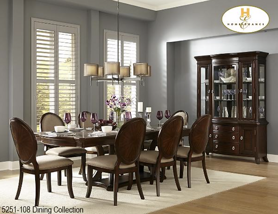 5251 7pc Dining Table Set