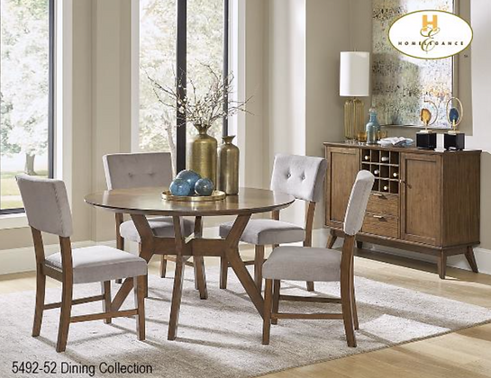 5492 5pc Dining Table Set