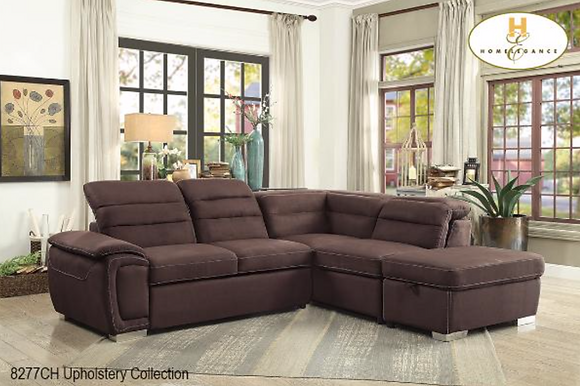 8277 Sectional Sofa Bed