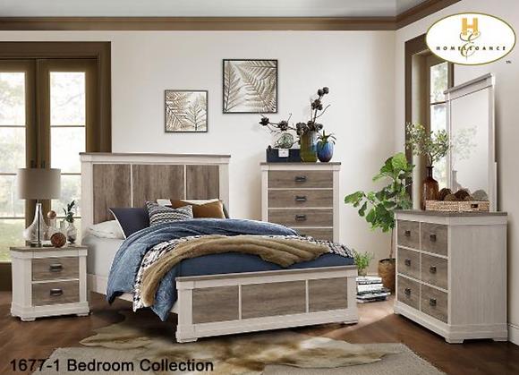 1677 Bedroom Set