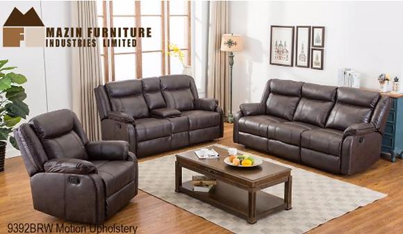 9392 Recliner Sofa Set