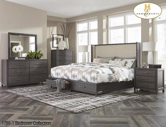 1788 Storage Bedroom Set