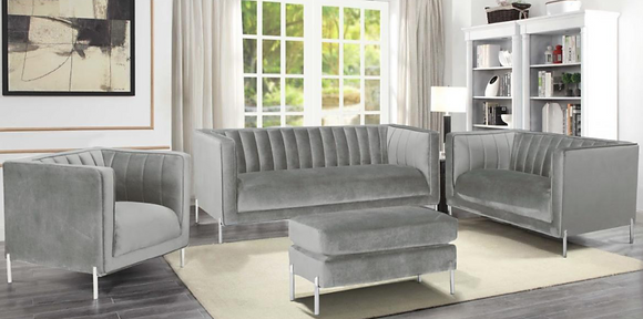 8011 Sofa Set with Ottoman