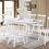 Thumbnail: T-3056/3055 7pc Dining Set