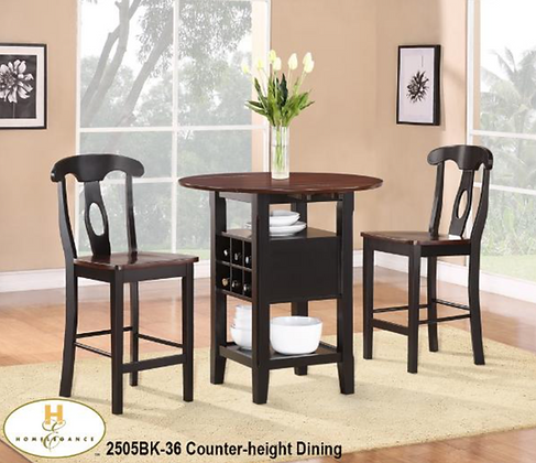 2505 3pc Counter Height Set