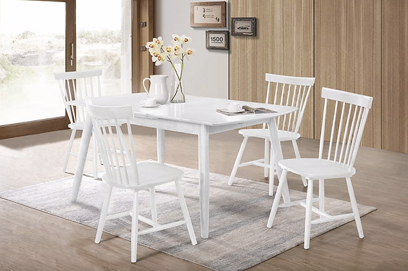 T-3058/3055 5pc Dining Set