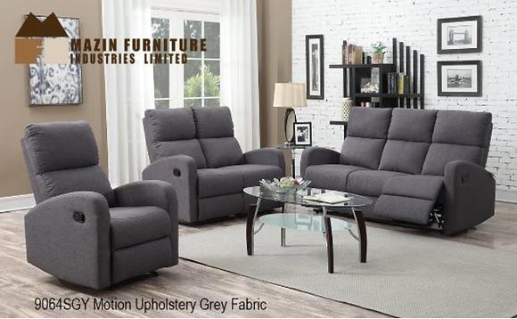 9064 Recliner Sofa Set