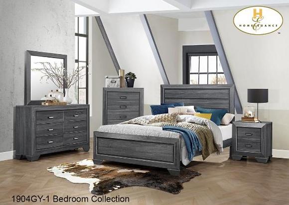 1904GY Bedroom Set