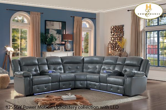 8255 Sectional Recliner