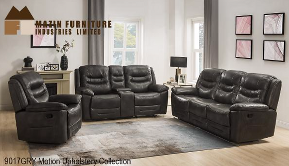 9017 Recliner Sofa Set