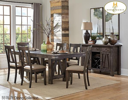 5518 7pc Dining Table Set