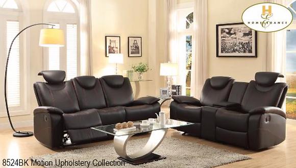 8524 Recliner Sofa Set