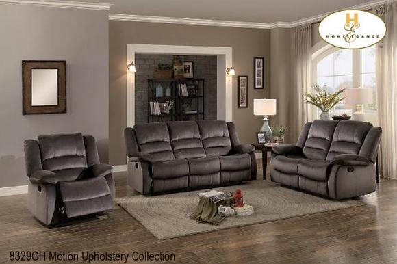 8329 Recliner Sofa Set