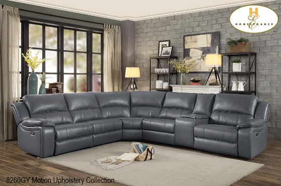 8260 Recliner Sectional