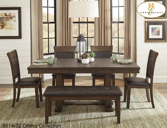 5614 6pc Dining Table Set