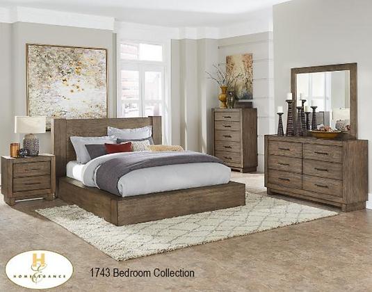1743 Bedroom Set