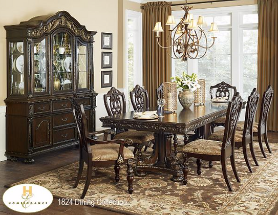 1824 7pc Dining Table Set