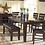 Thumbnail: 586-40 6pc Dining Table Set