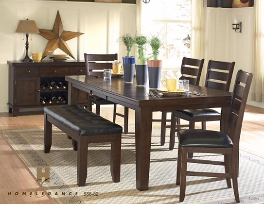 586-40 6pc Dining Table Set