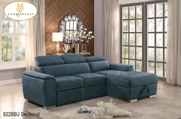 8228 Sectional Sofa Bed