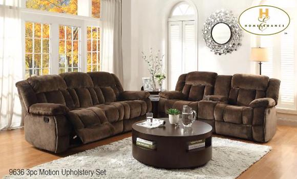 9636 Recliner Sofa Set