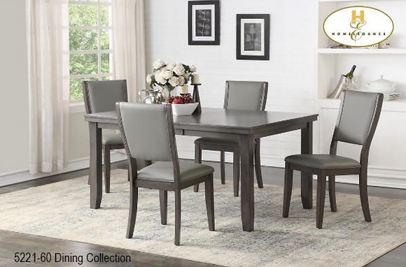 5221 5pc Dining Table Set