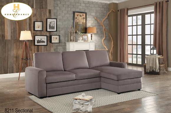 8211 Sectional Sofa Bed