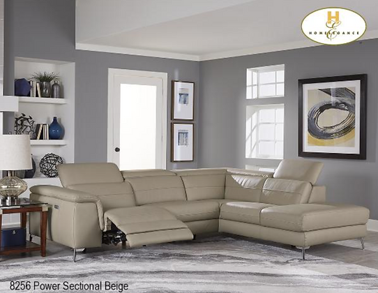 8256 Recliner Sectional