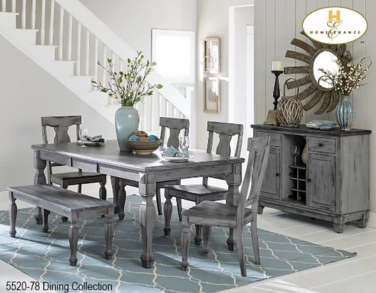 5520 6pc Dining Table Set