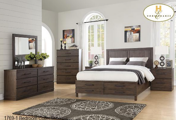 1769 Storage Bedroom Set