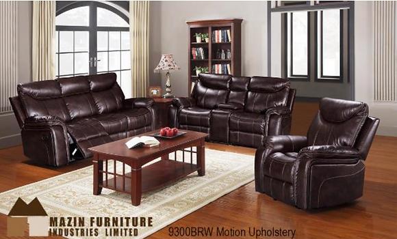 9300 Recliner Sofa Set