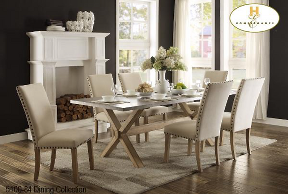 5100 7pc Dining Table Set