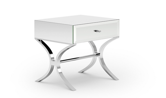 MS-0028 Glass Side Table