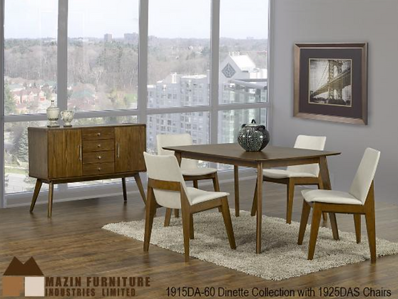 1915 5pc Dining Table Set