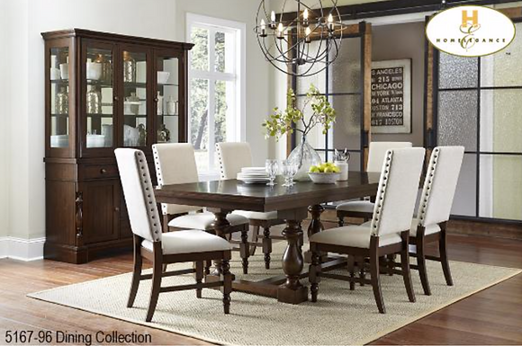 5167 7pc Dining Table Set