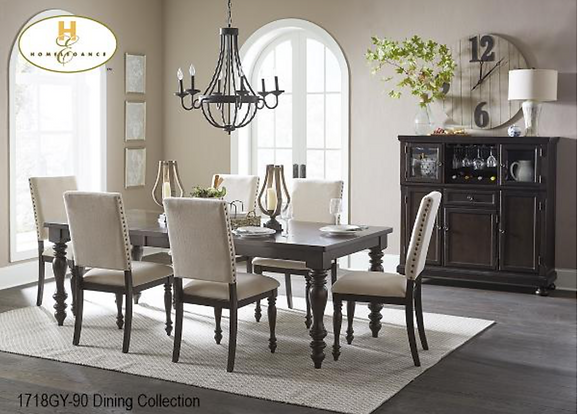 1718 Dining Table Set