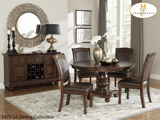 5473 5pc Dining Table Set