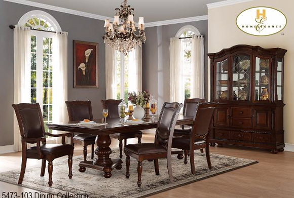 5473 7pc Dining Table Set