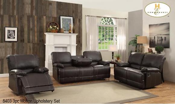 8403 Recliner Sofa