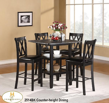 2514 5pc Counter Height Set
