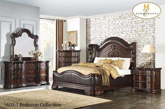 1603 6pc Bedroom Set