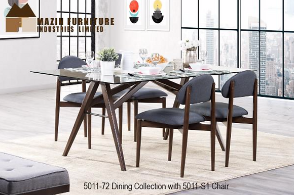 5011 5pc Dining Table Set
