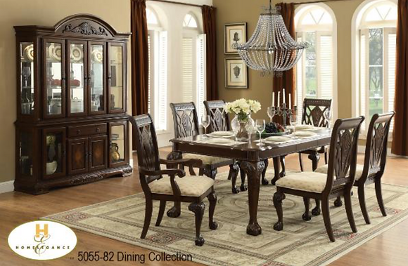 5055 7pc Dining Table Set