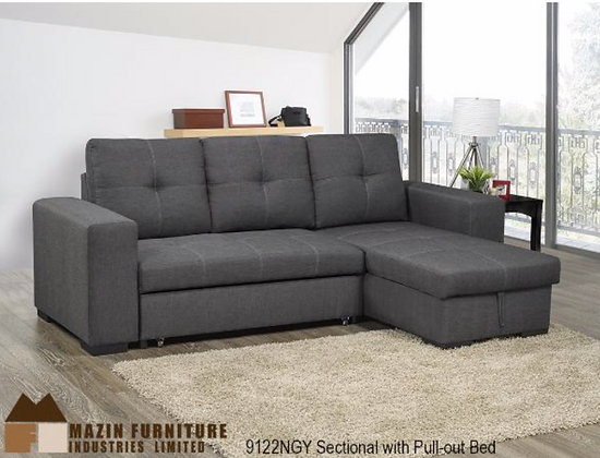 9122 Sectional Sofa Bed