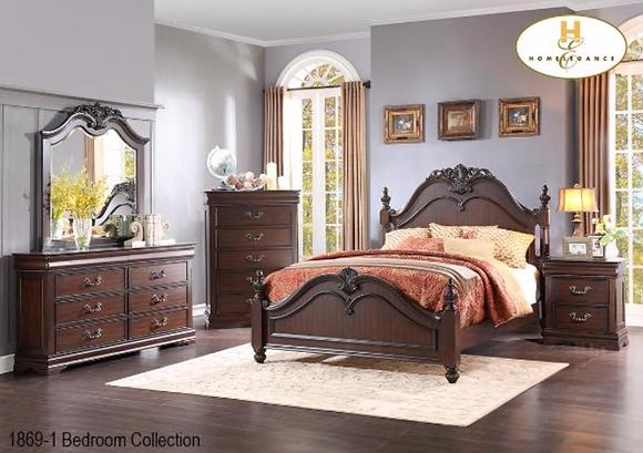 1869 Bedroom Set