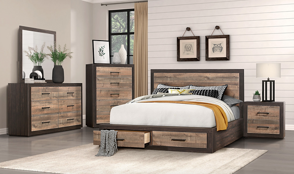 1762 Storage Queen Bedroom Set