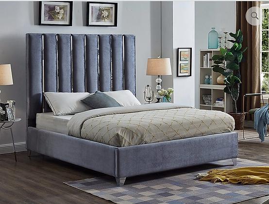 5621 Velvet King Bed